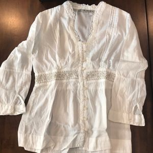 Boho Button up Blouse